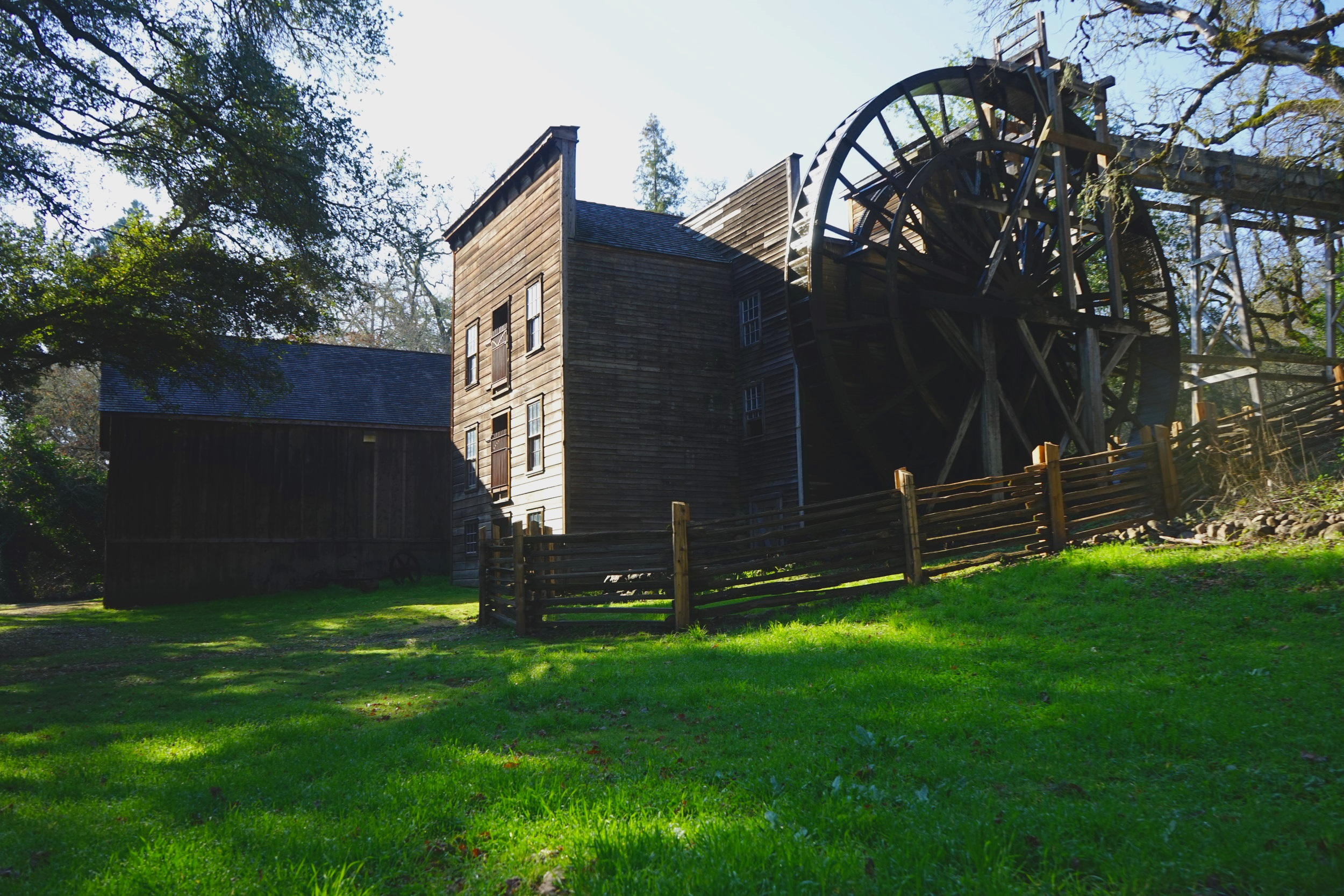 The Historic Bale Grist Mill