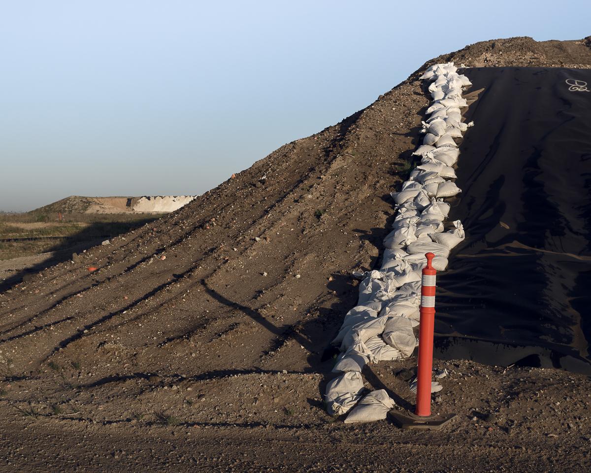 NHIS Soil. Santa Maria Landfill, CA. 2014 (diptych left)