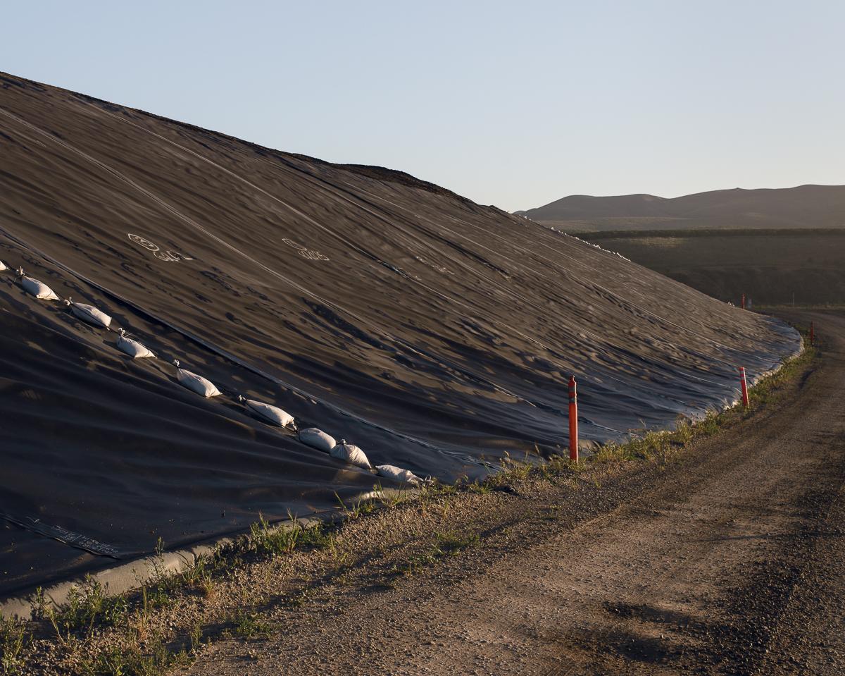 NHIS Soil. Santa Maria Landfill, CA. 2014 (diptych right)
