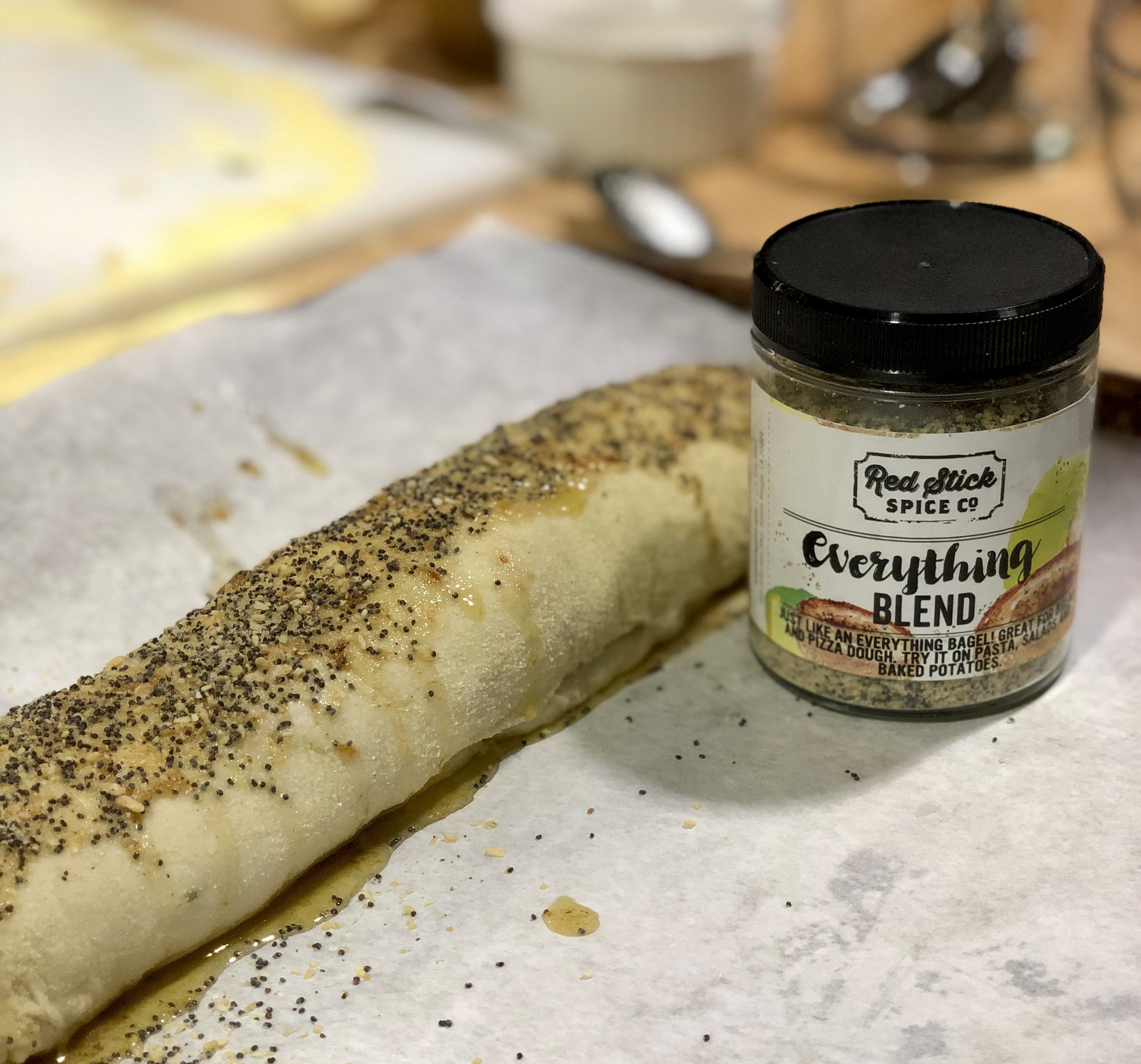 Bagna Cauda Bread with Everything Blend