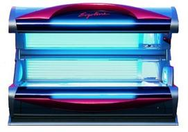 Ergoline Tanning Bed - This 12-minute tanning bed has powerful 97% UVB-free tanning bulbs that will help you jump-start that bronze color.