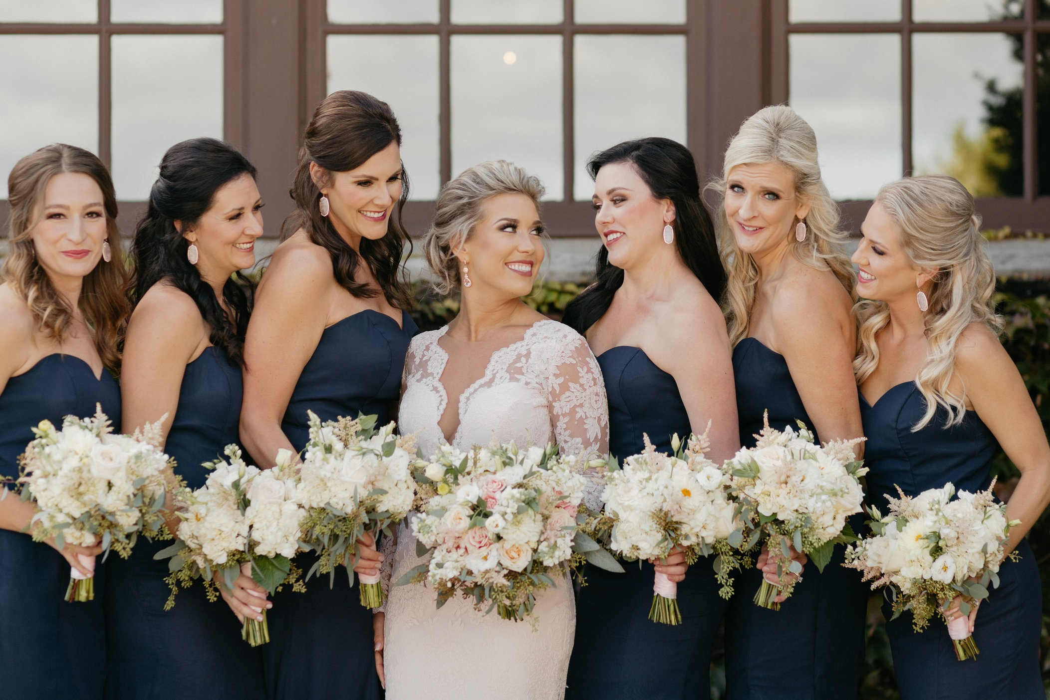 "Perfect Bouquets - ""Lauren was absolutely amazing to work with and the flowers turned out beautifully. I walked into Vogue absolutely clueless about flowers and what was going to work. She walked me through everything and we created the the perfect bouquets and arrangements for my wedding while staying within my budget."""