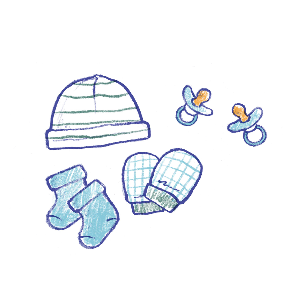 Mittens, Socks & Hats Pacifiers