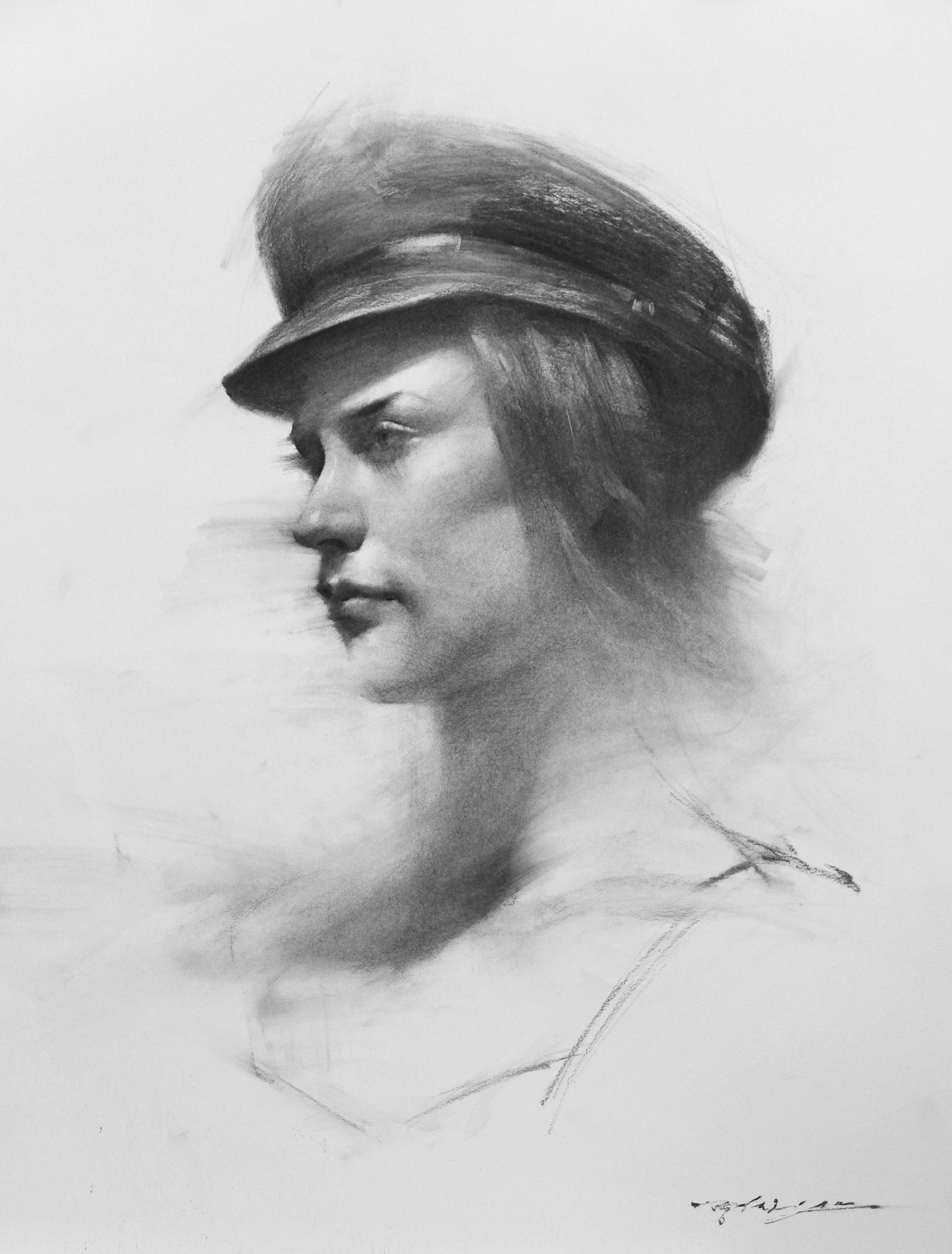 Jessie in Hat