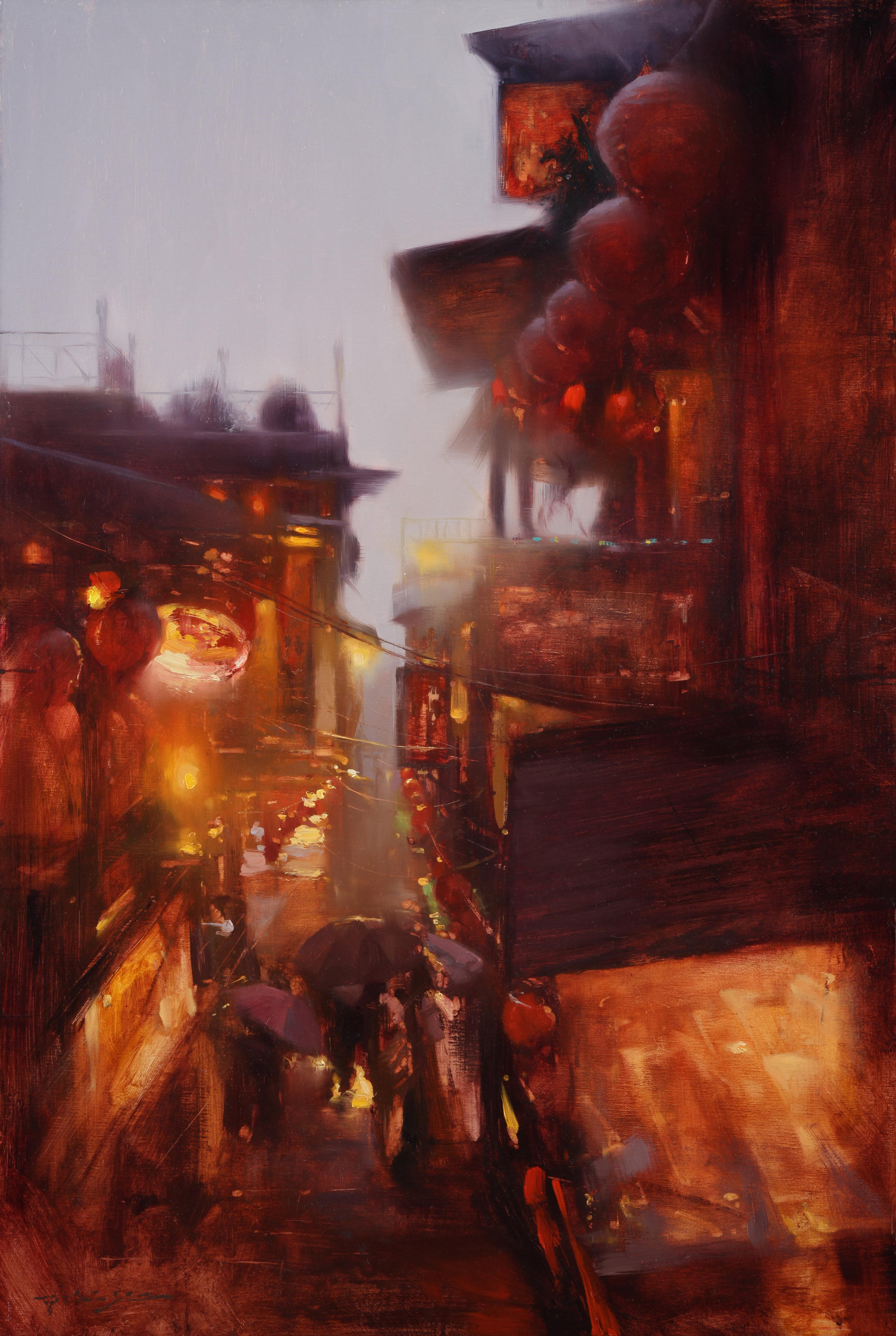 Night Market Glow