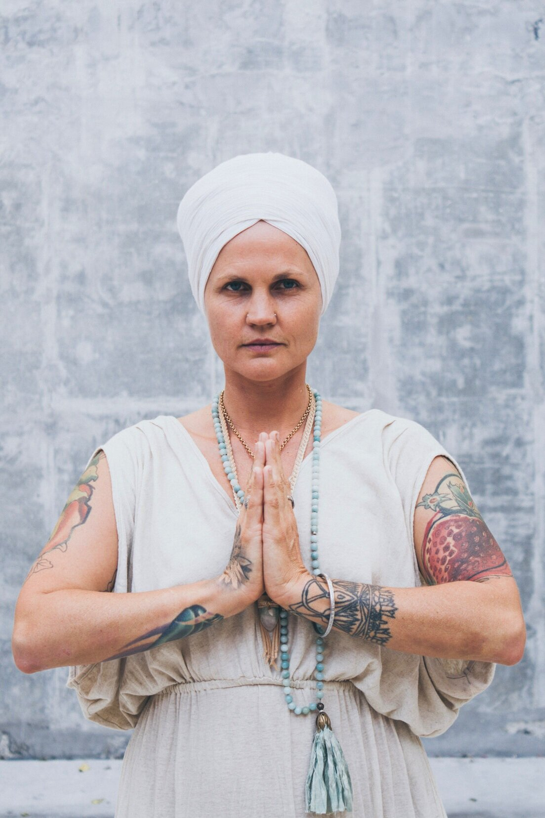 Sopurkh Kaur - Sopurkh has been teaching for as long as she has been here on Planet Earth. She is a certified Kundalini Yoga instructor, sharing the authentic teachings of Yogi Bhajan for over 14 years. Rich in yogic philosophy, powerful kriyas, and deep meditative experiences, her classes are opportunities for expansion and awakening. Sopurkh enjoys the benefits of Kundalini in every aspect of her life, and is dedicated to helping others reach their true potential.She is mother to Isis and partner to Dawna. The three live in Long Beach, CA where they have created two thriving raw food restaurants, Under the Sun Cafe and Rainbow Juices.