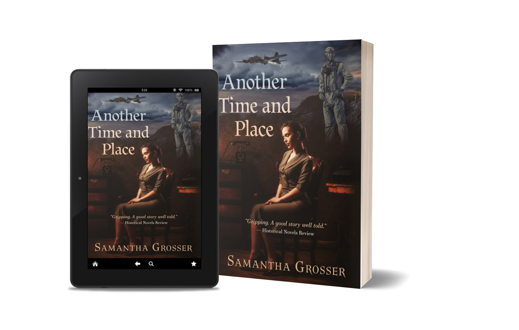Another Time and Place - kindle and book.jpg