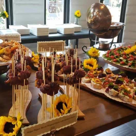 I had the pleasure of catering a gorgeous wedding yesterday! My staff and the guests were simply amazing! The venue, perfect! @sarabandebnb