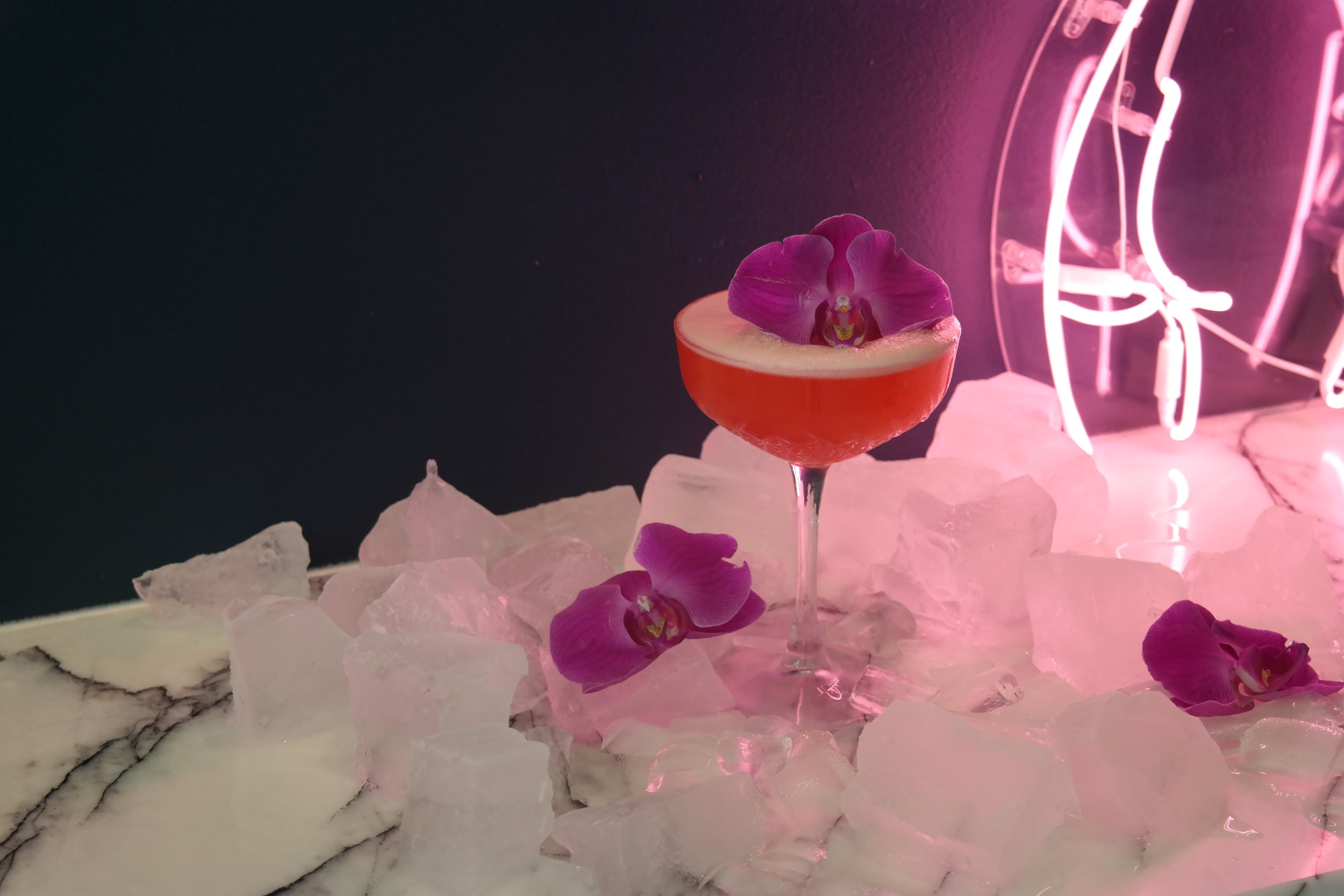 The floral cocktail