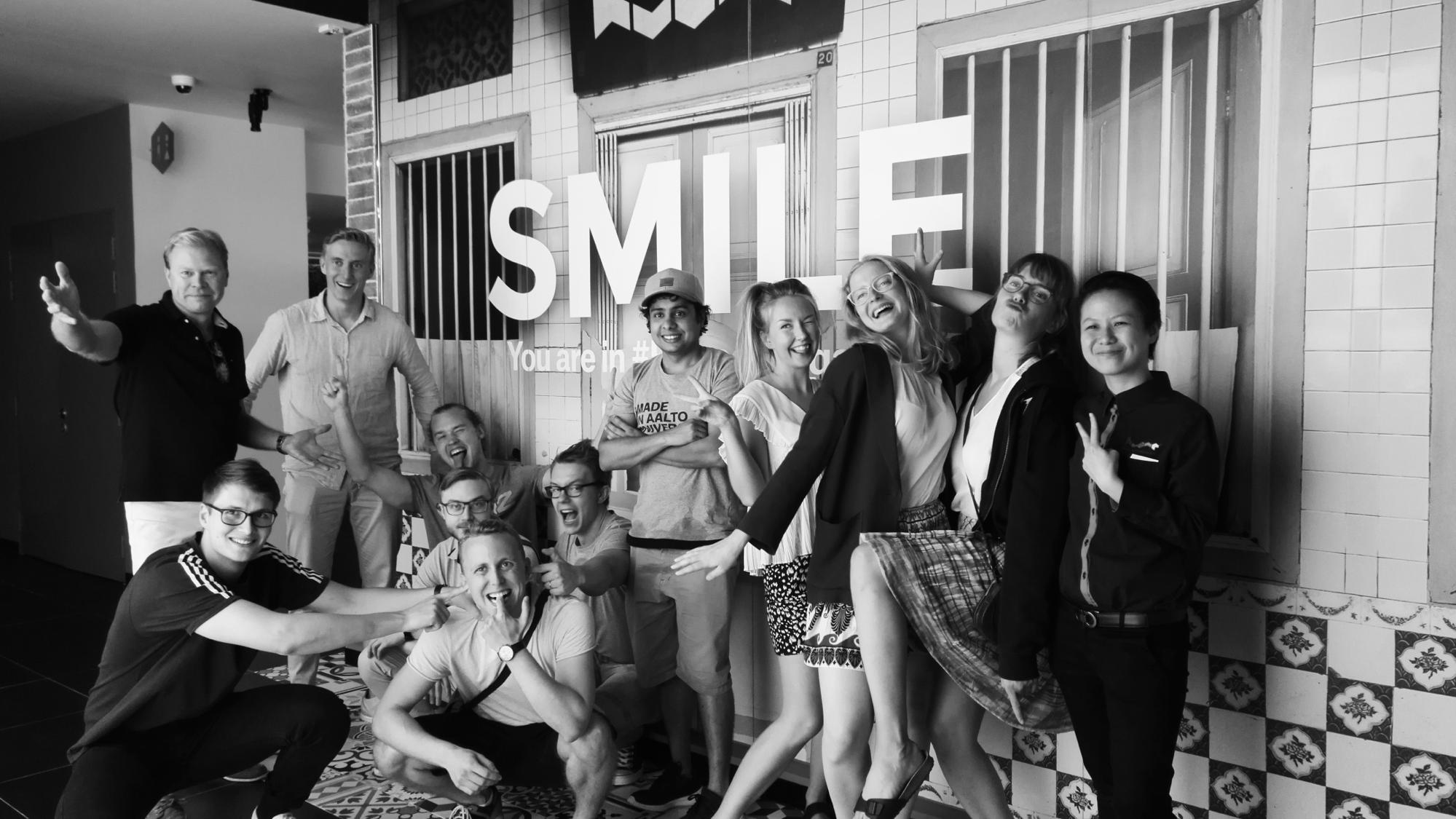 the study trip - – a week at a global startup hub –
