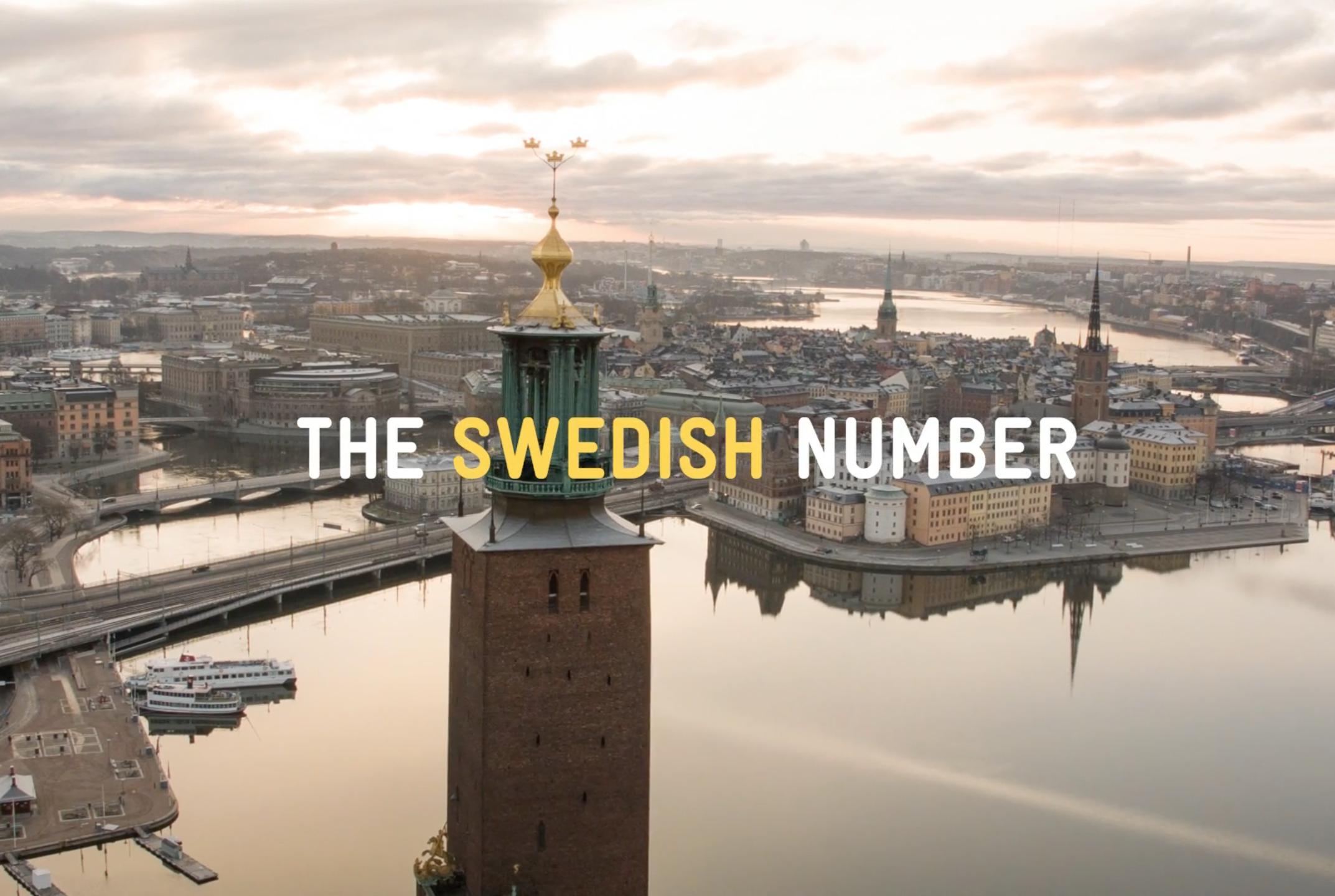 The Swedish Number - för Svenska TuristföreningenSe case ➝