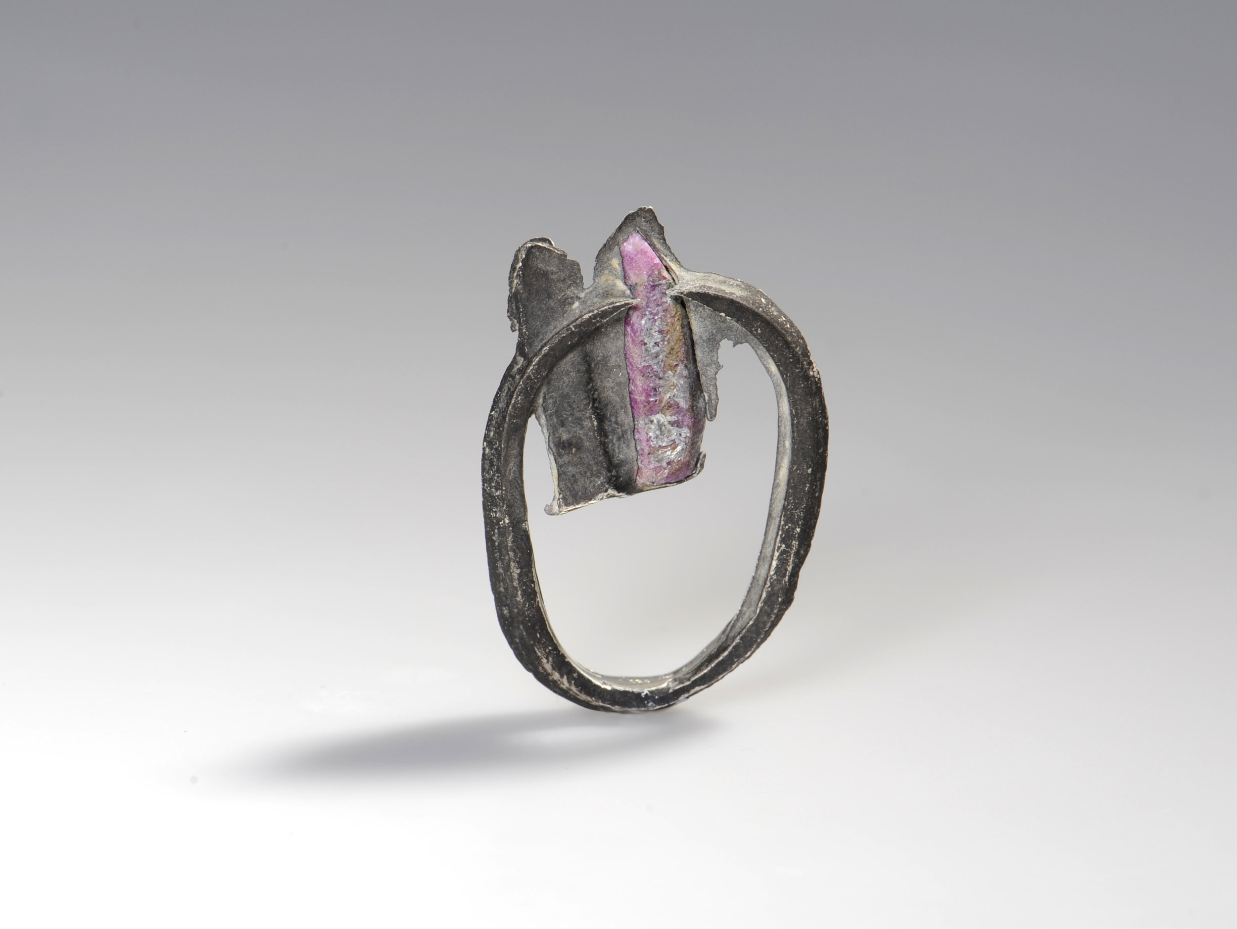 ring with ruby by Nora Werner Design