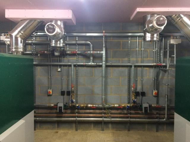 biomass install heating national trust