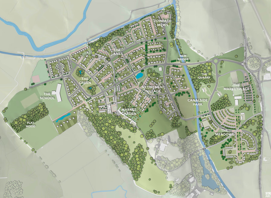 Arrow Energy - Ellel Gardens site map.png