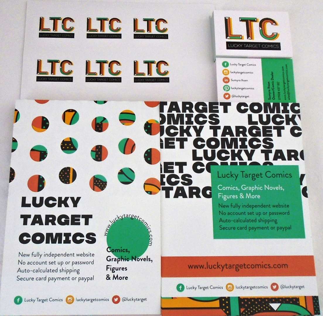 Lucky_Target Comics_business-cards_and_flyers.JPG