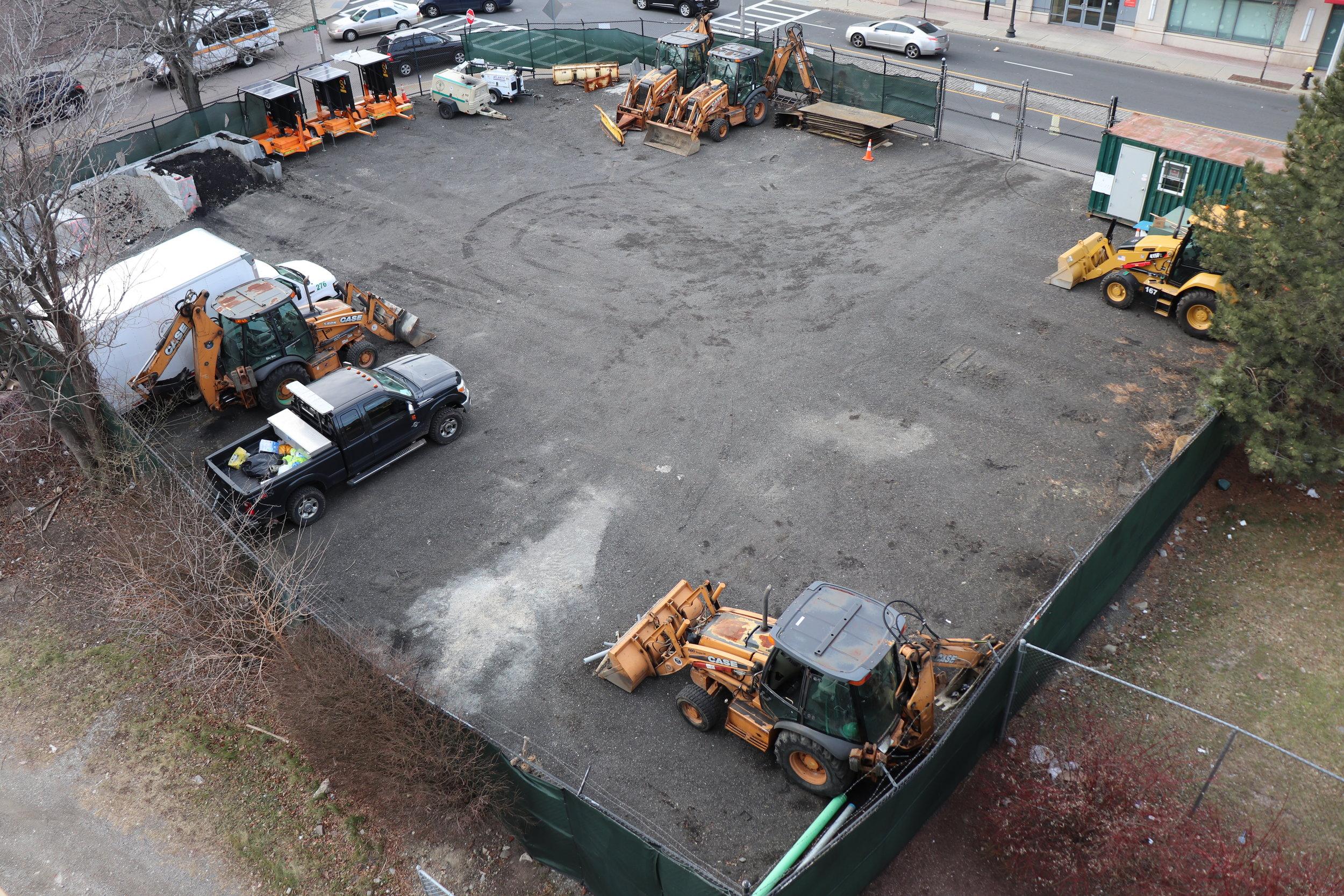 Electric Distribution Yard
