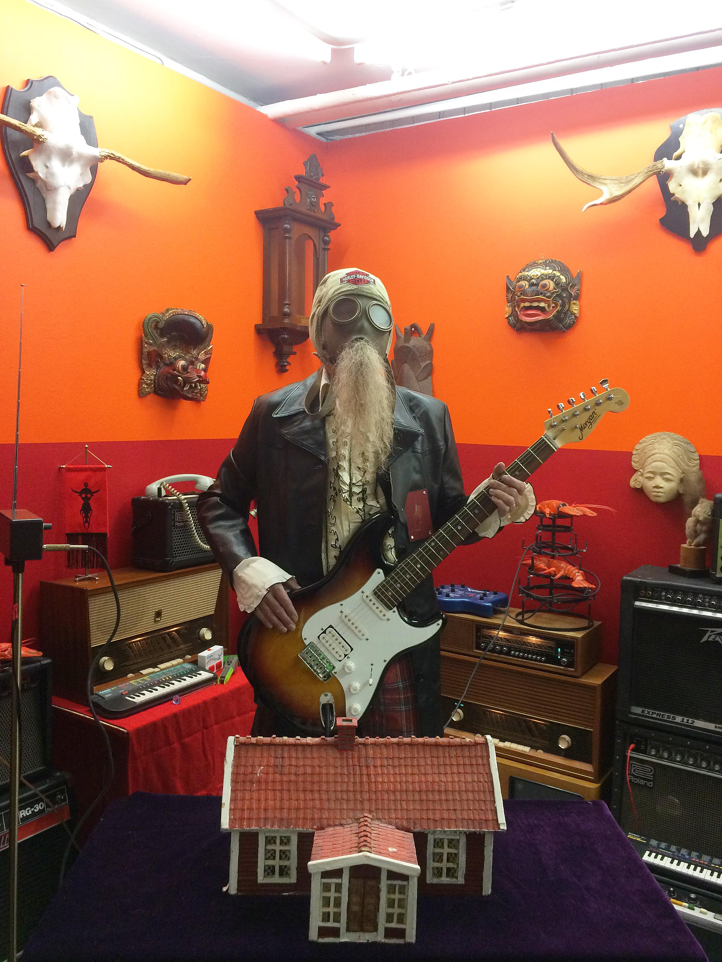 Count Pukebeard Live at Tenthaus, Oslo, Mars 2017
