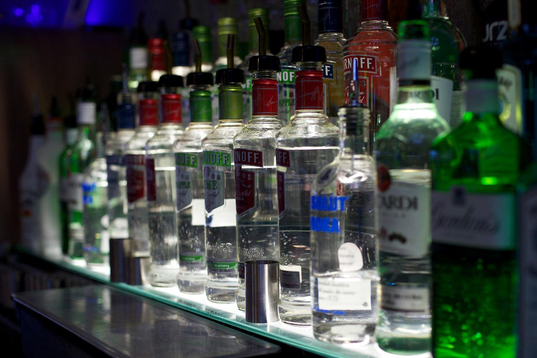 Licensed bar -