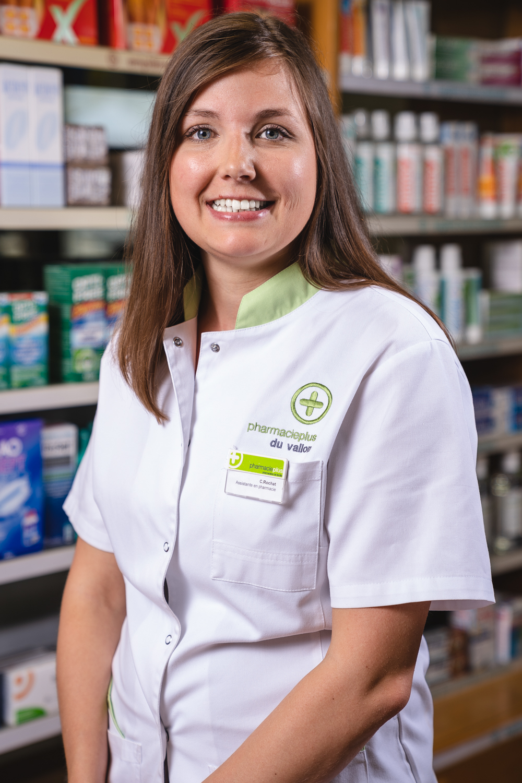 Coraline Rochat - Assistante en pharmacie