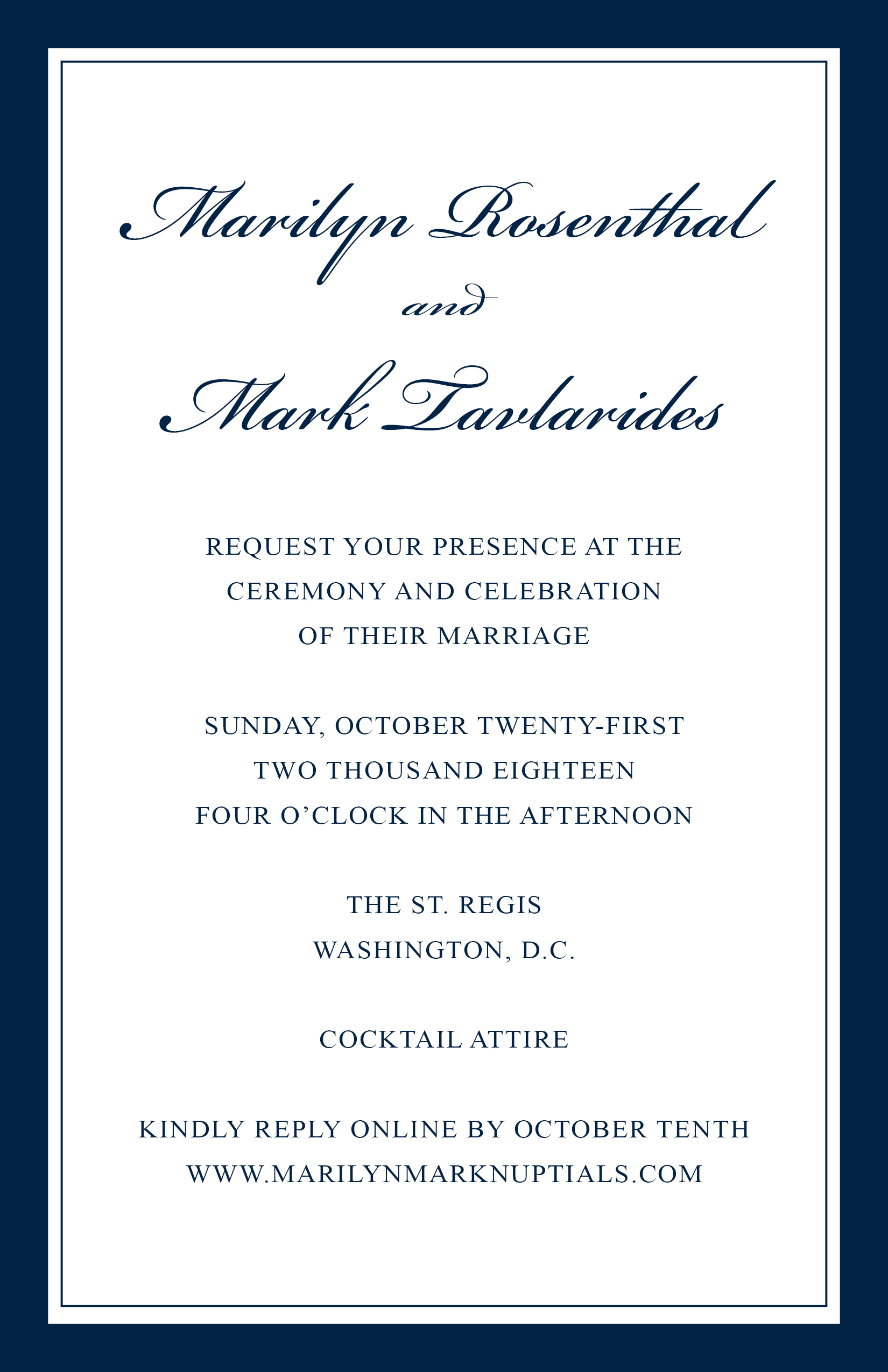 Invitation - Wedding Marilyn Rosenthal and Mark Tavlarides 102118 FINAL.jpg