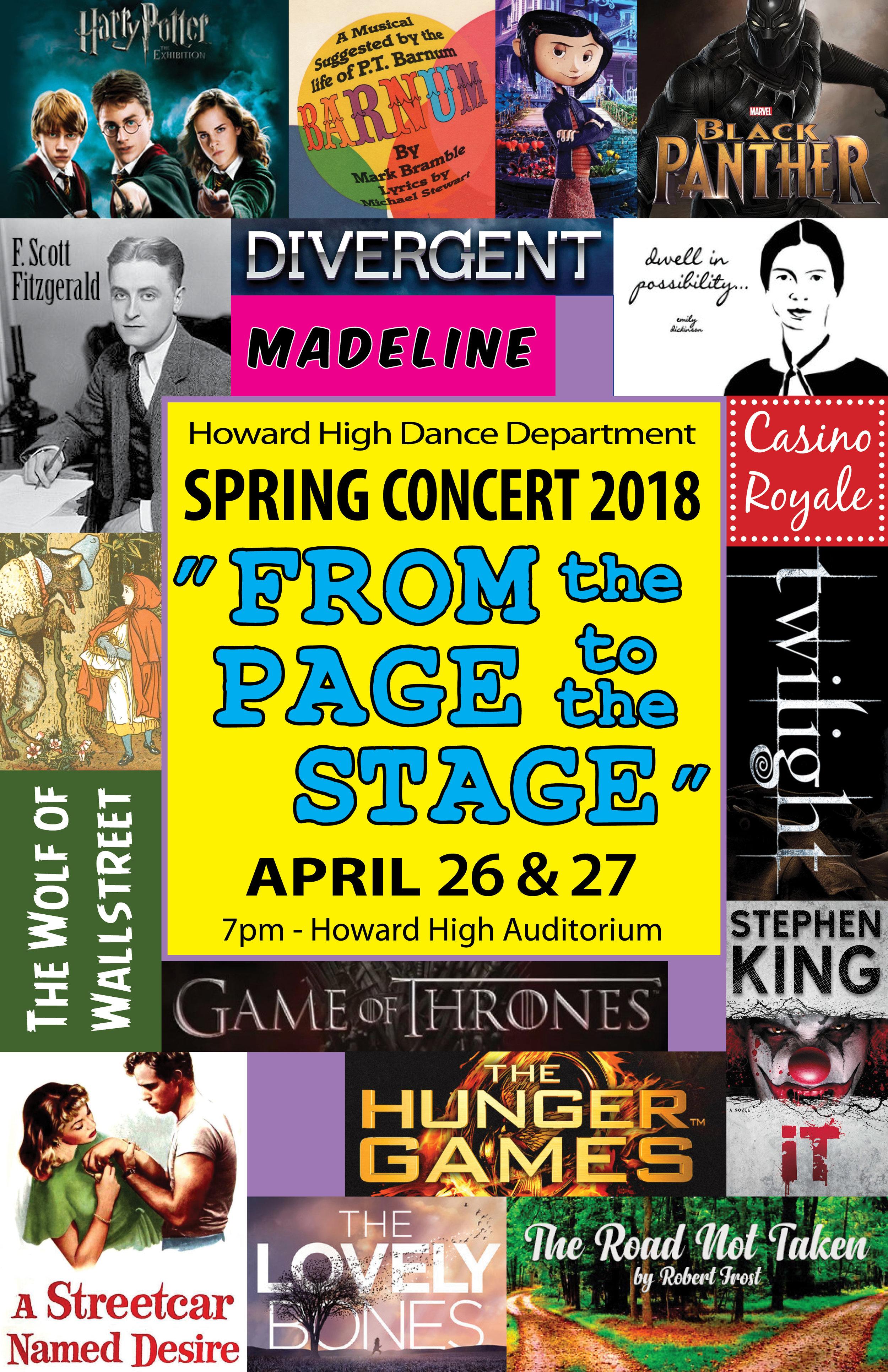 Program Cover - Howard High Dance Concert Spring 2018 FINAL.jpg