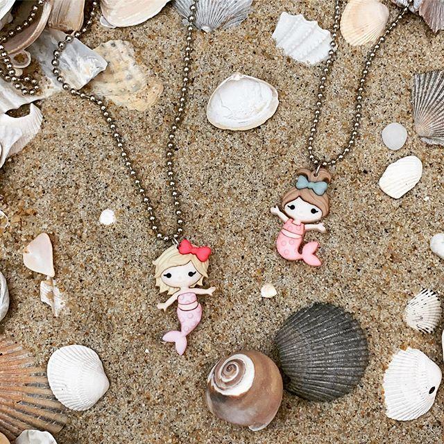 Feeling beachy keen! 🏖 😉#mermaid #fashiononthebeach #summer #mermaidnecklaces #newinstore at foundpennystudio.com