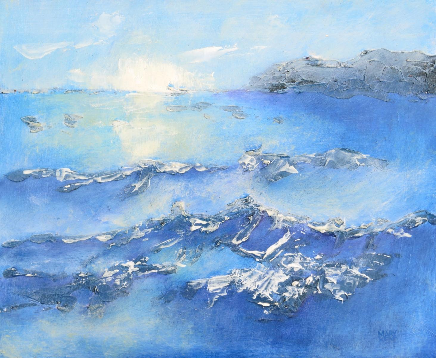 Ocean Painting.    Details.