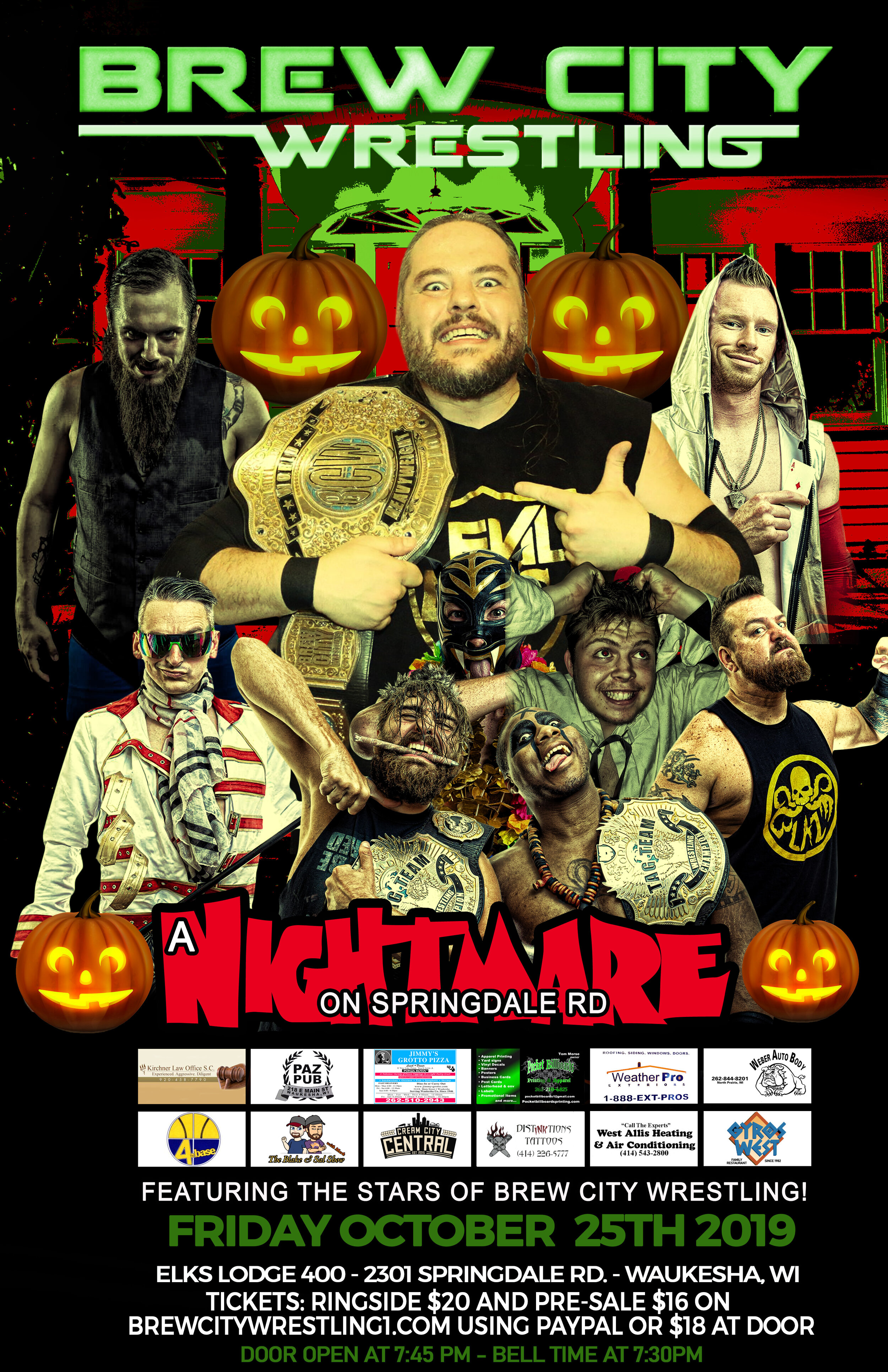 BCW Nightmare on Springdale
