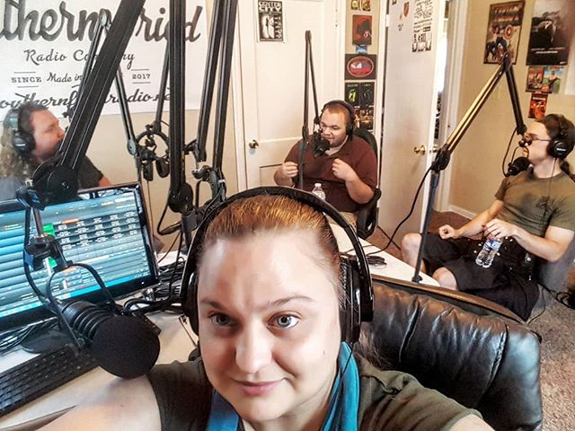 Today we had filmmaker Thomas Moore of @blessedmelodyproductions in the studio for a little fun noir! Tune in for AiA Episode 27 Friday at noon EST to hear us chat about movies, video games, and more.