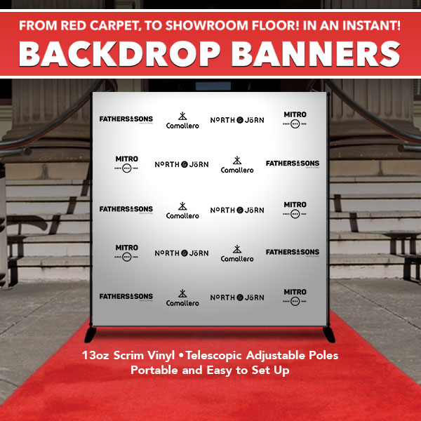 BACKDROP BANNERS