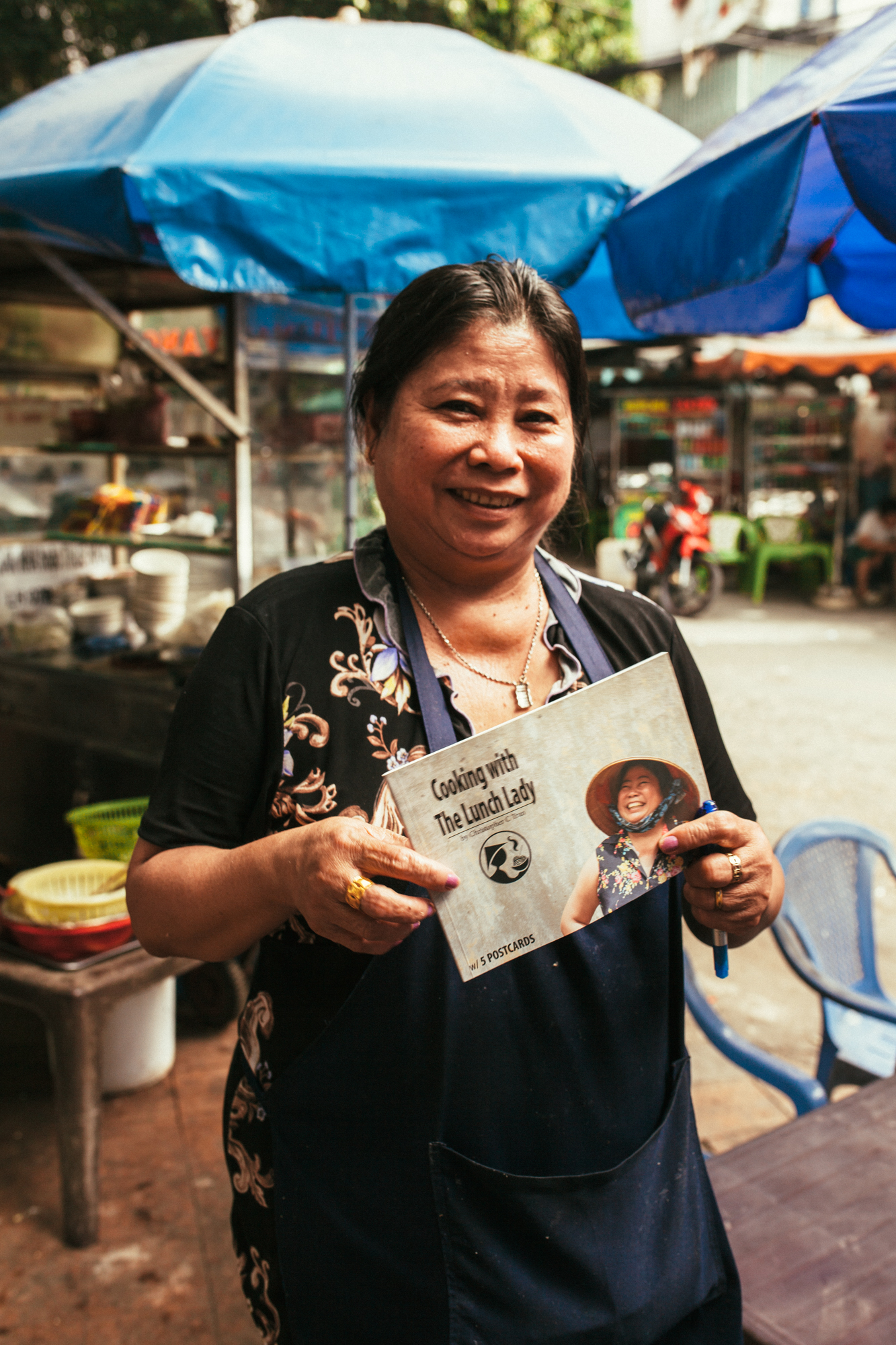 The Lunch Lady herself, Ms. Nguyen Thi Thanh.