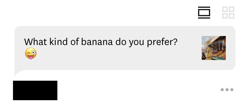 Cavendish bananas. Duh.