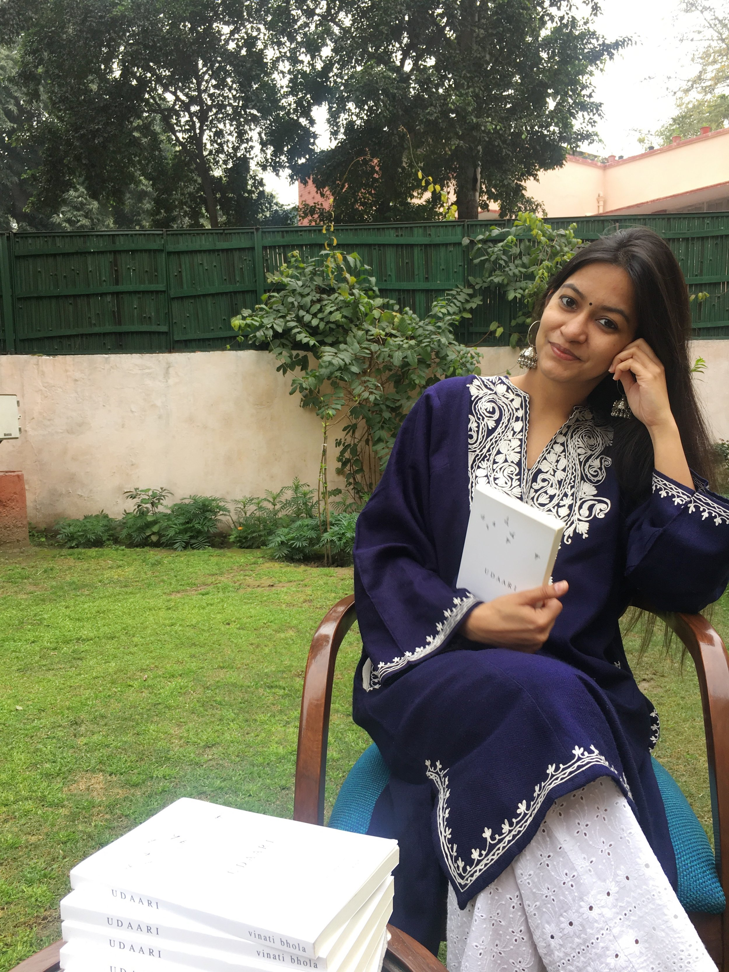 Vinati Bhola - A 26-year-old corporate lawyer surviving the monotony of money minting by falling back on her super power poetry…