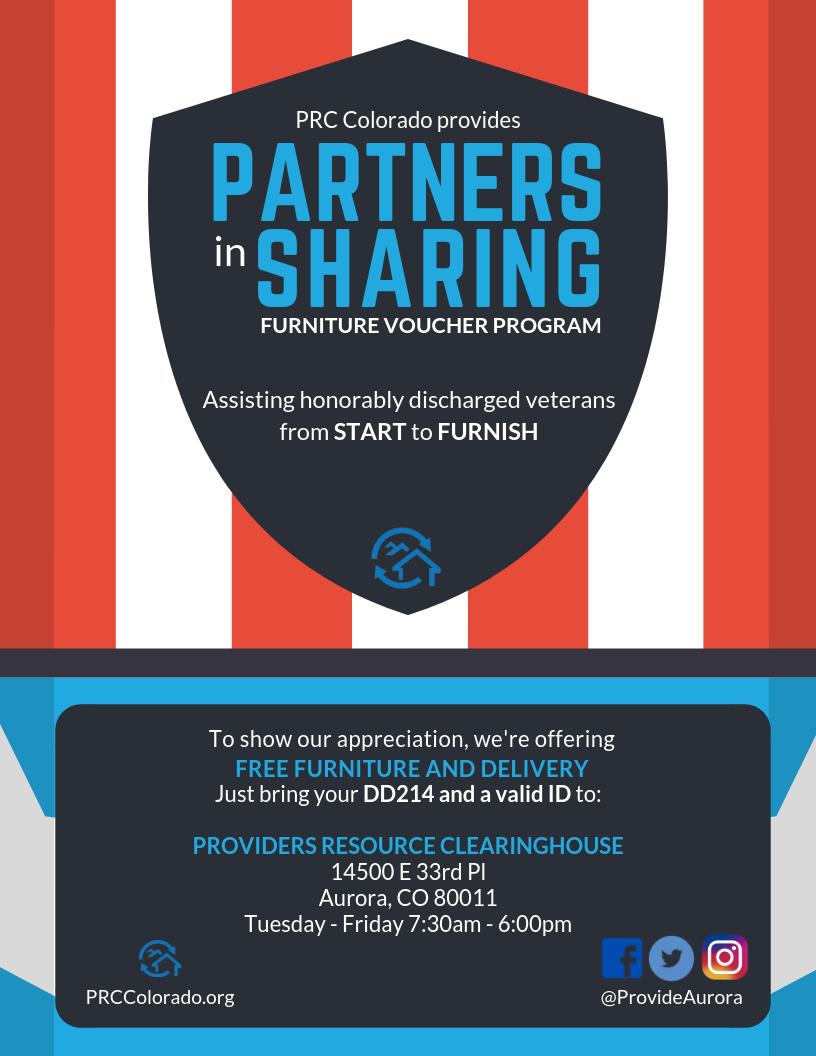 Partners in Sharing - Veterans - 8.5x11