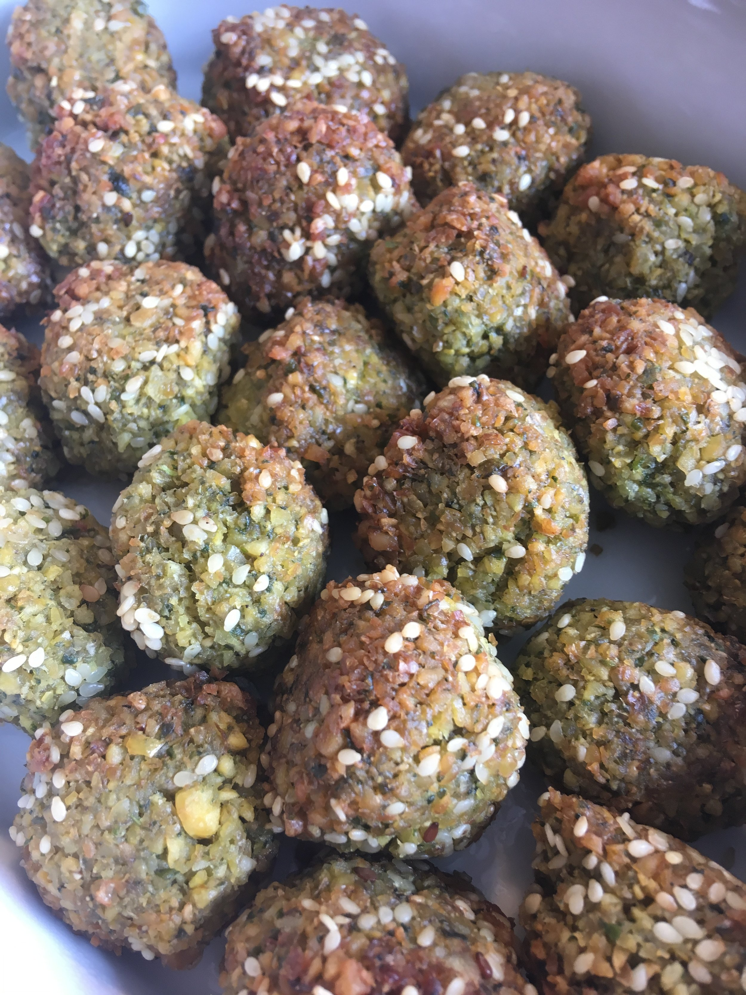 Falafels sesame seeds.JPG