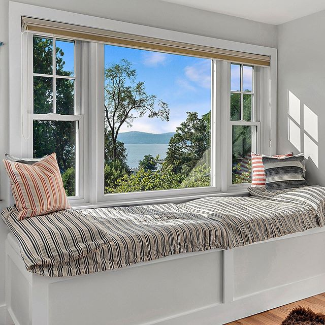 Good things come to those who wait...and what could be better than a window seat with a view? . Coming soon in Tarrytown, NY