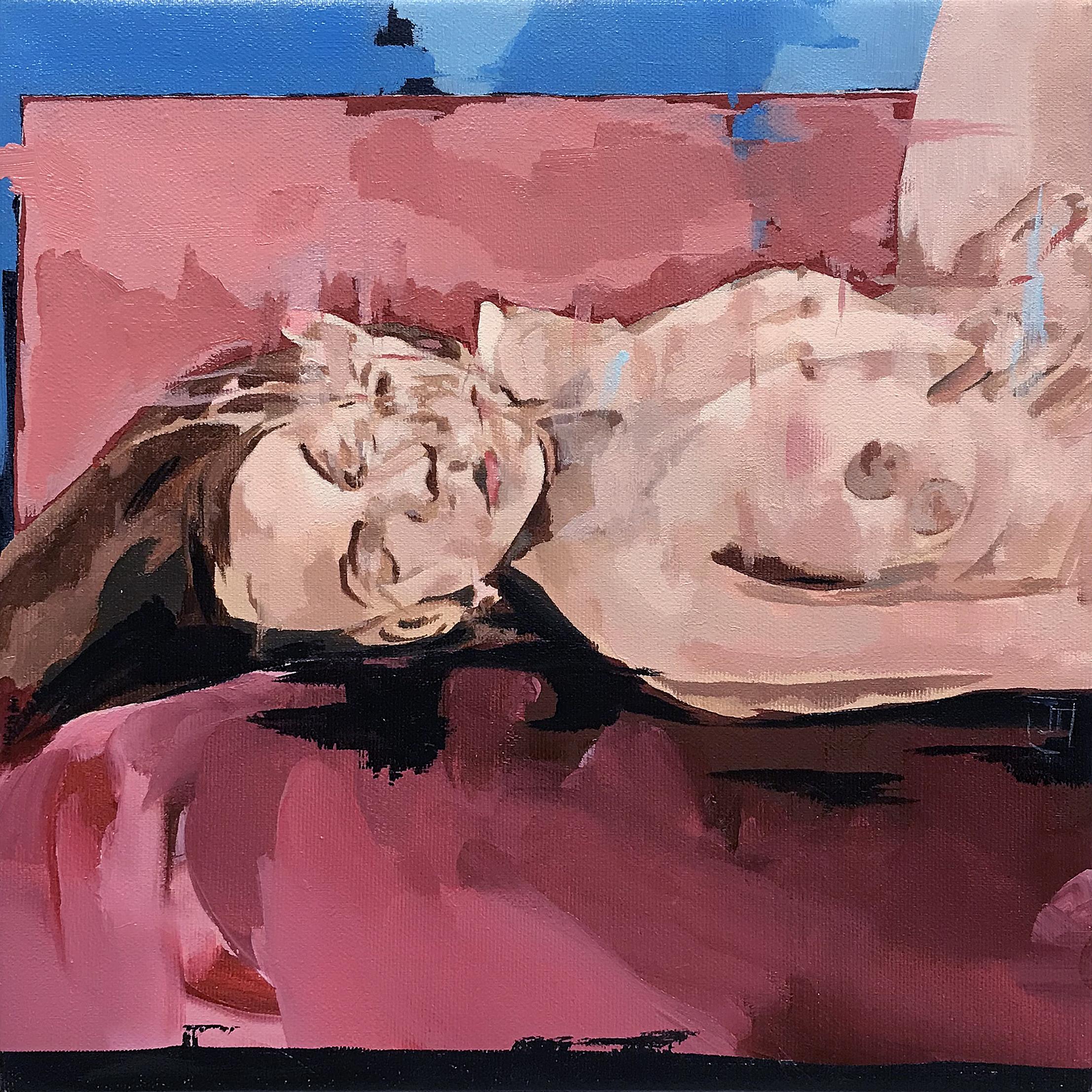 Figura na cama