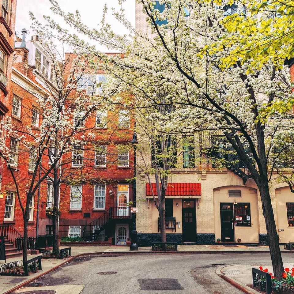 Spring in West Village, NY