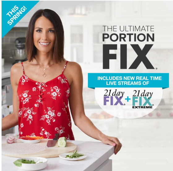 The Ultimate Portion Fix - The Ultimate Portion Fix is the expansion of one of the most successful weight-loss programs ever, based on portion-control containers that take the guesswork and emotions out of eating perfectly portioned meals. Building on 5 years of proven success, Super Trainer and nutrition expert, Autumn Calabrese has developed an easy-to-follow 30-day, video-based program with over 300 recipes, tracking tools, shopping tips and healthy snack hacks