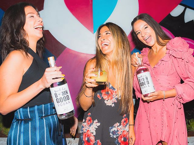 We came, we laughed, we drank damn good vodka! 🌺 @greenleafchopshop Venice, CA 📷 @kaelanbarowsky