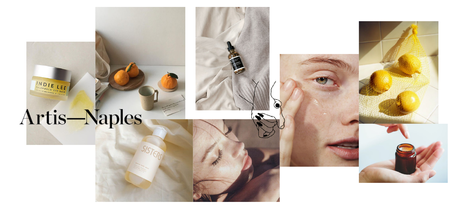 Moodboard selected from our concept phase