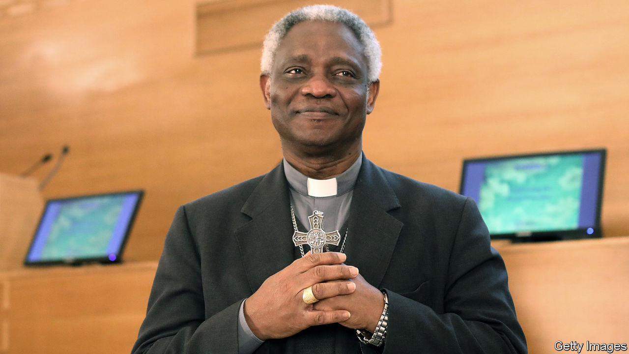 His Eminence Cardinal Peter Kodwo Turkson, Prefect of the Holy See  Dicastery for Promoting Integral Human Development,  at The Laudato si Challenge final event in Vatican City.