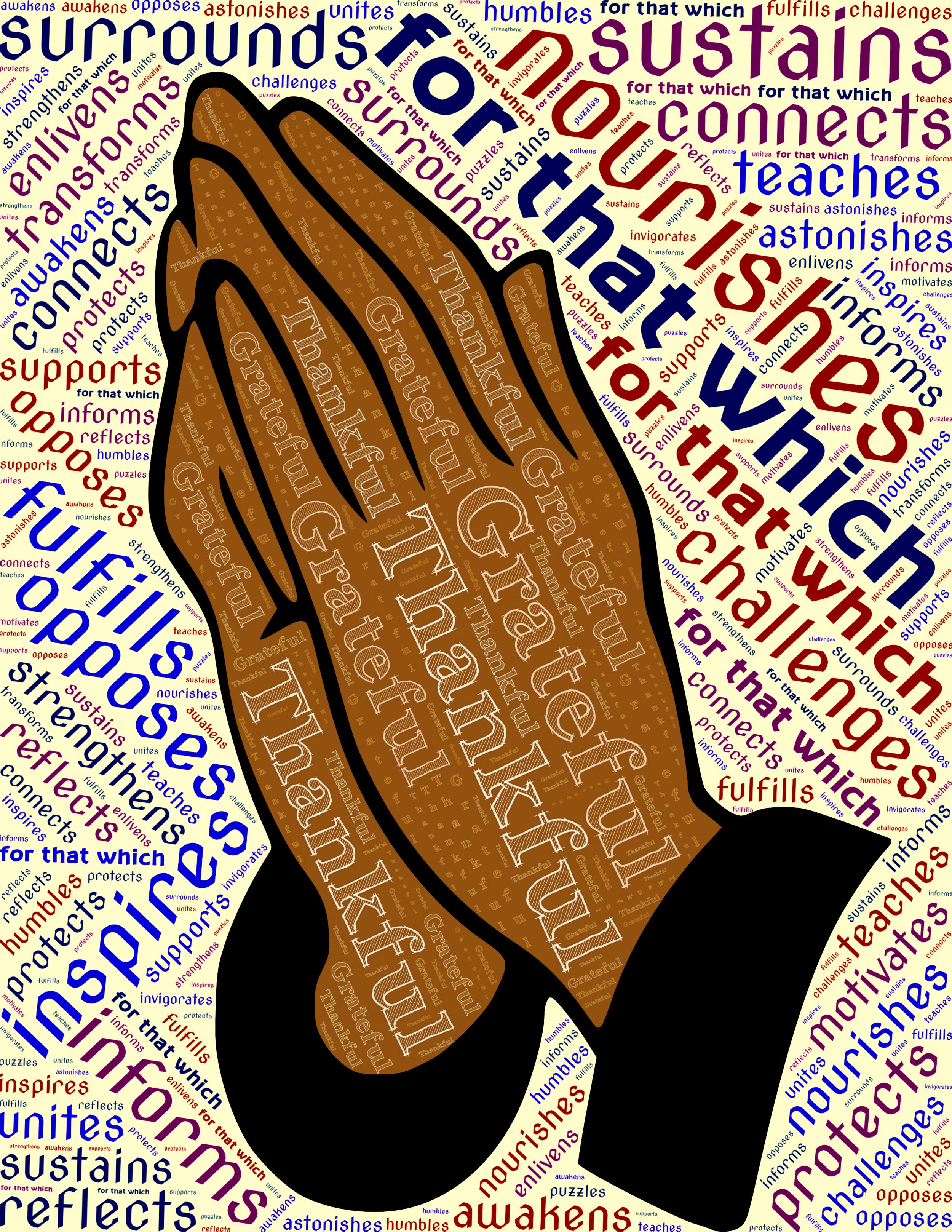 Gratitude Nourishes