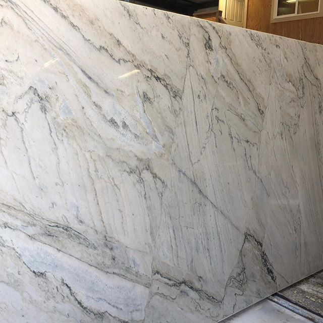 • In stock • Sea pearl granite • This Stone will make some beautiful counters! #granite#stone#shoplocal#kitchencounters#bathroomcounters#showerwalls#sierrastoneinc#slabyard#stoneyard