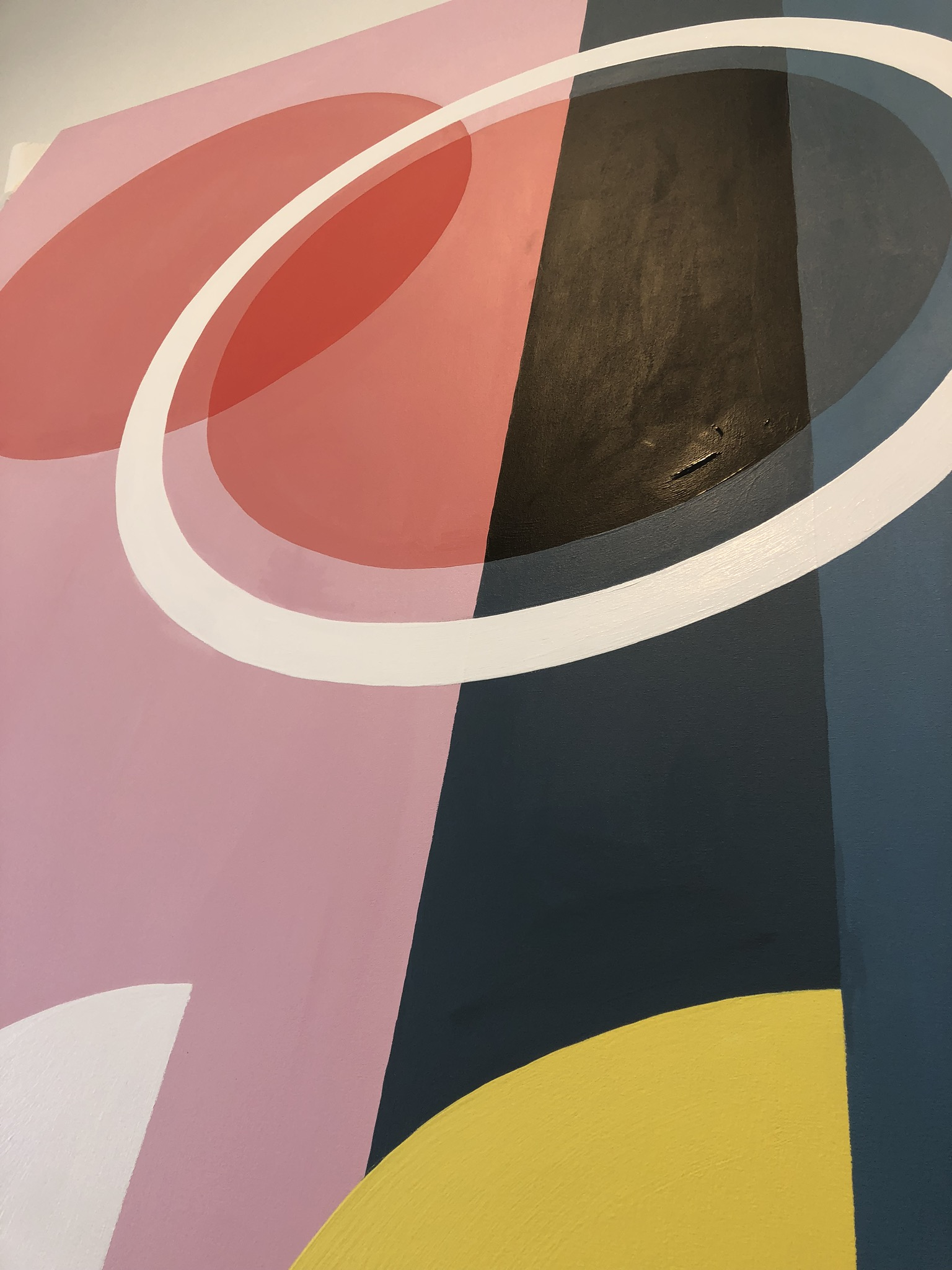 Marrow Fine Geometric Mural