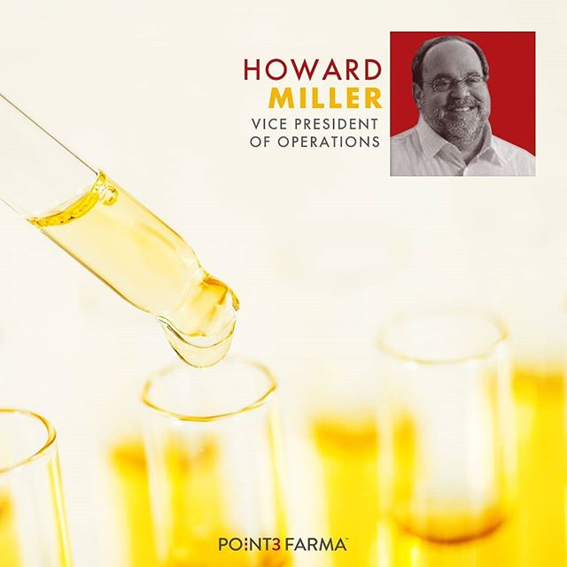 As Vice President of Operations, Howard Miller brings extensive operational experience to Point3Farma. We particularly benefit from his experience leading mulitple organizations from startup, to high growth, and eventual industry leaders during his career. His documented success in increasing revenues, assembling and building staffs, investing in state-of-the-art facilities, and developing custom, patented software is unmatched and lends to the quality and reliability we pass on to our customers.