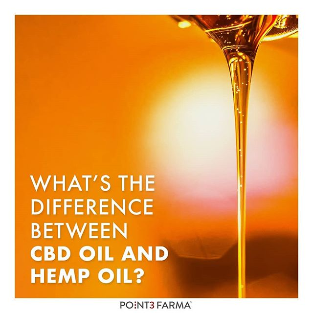 What's the difference between straightforward hemp oil and CBD oil, like the kind we supply to our clients here at Point3Farma? Click on the link in our profile to understand the key differences in more detail.