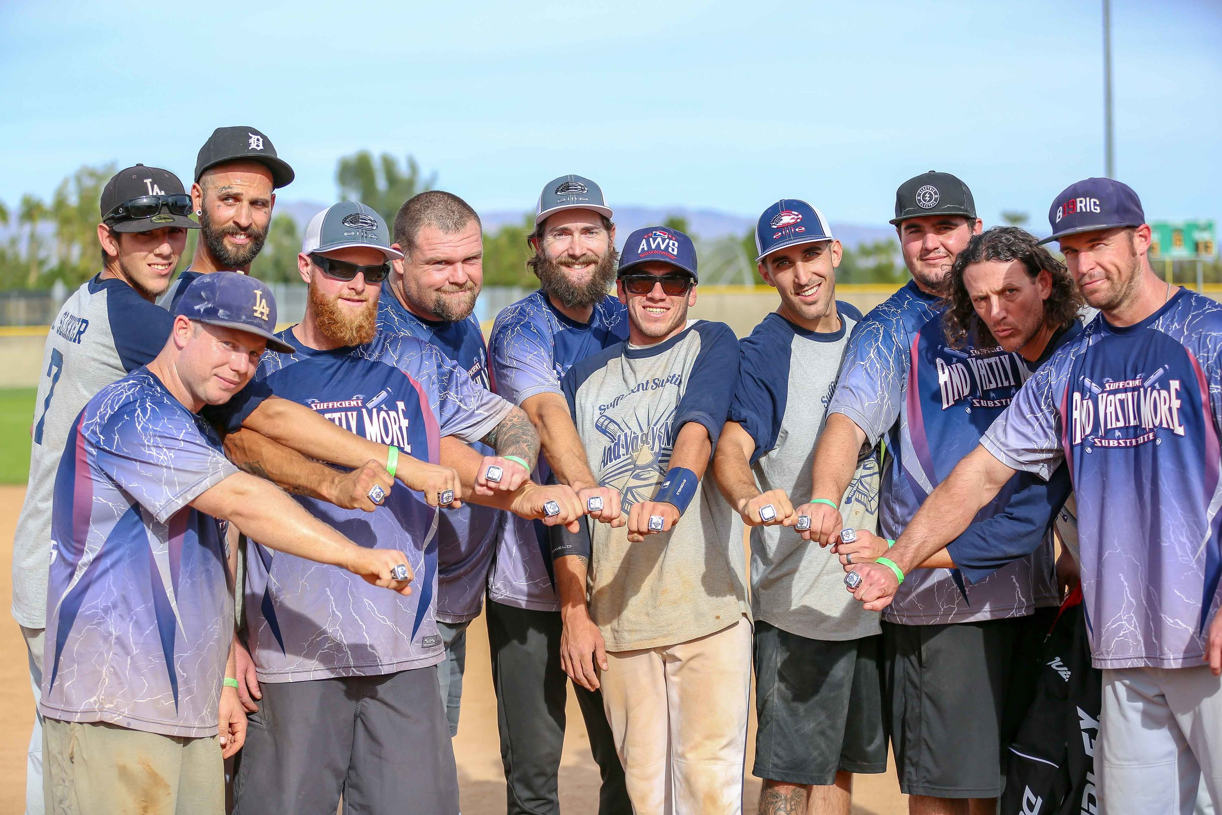 Mens - Congratulations And Vastly More! They battled through Men's lowers and won the ship!
