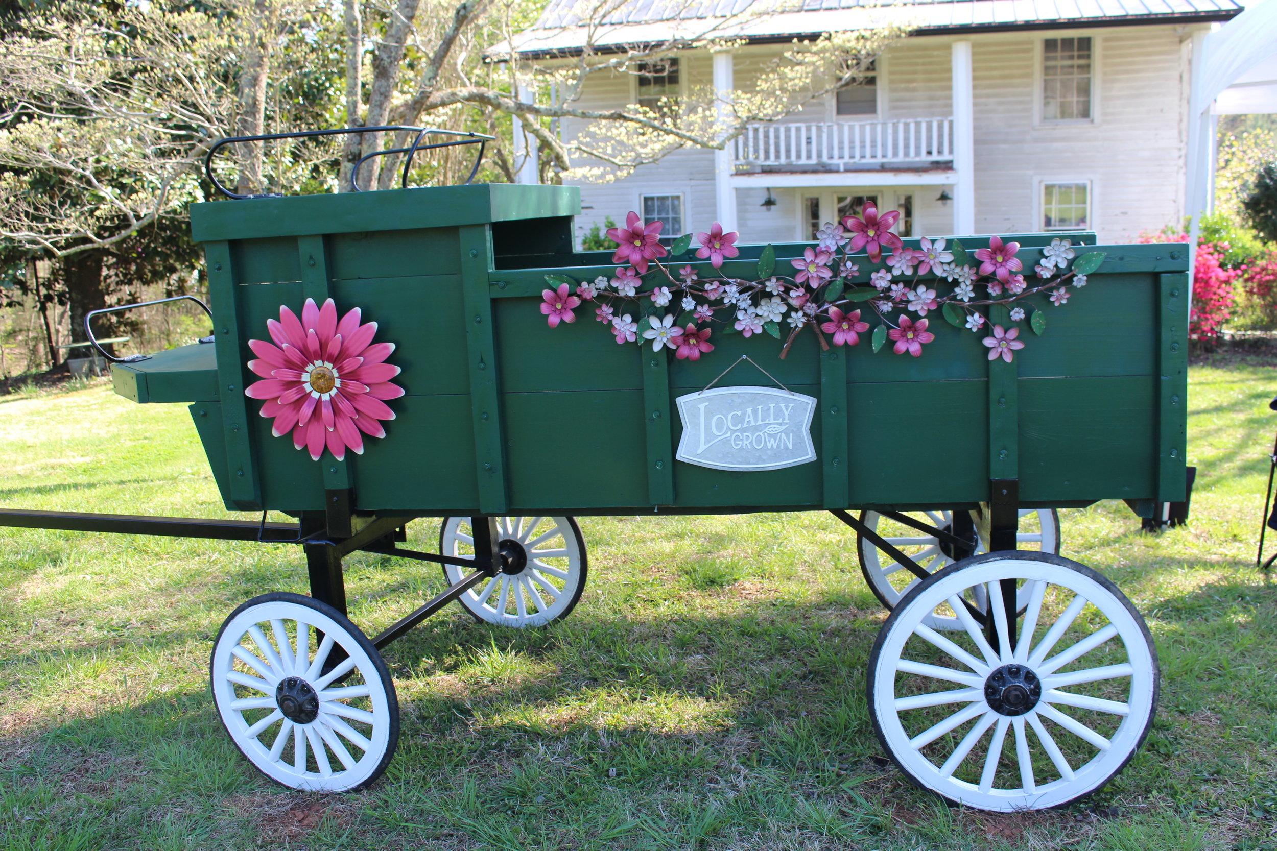 STILL WATERS FARM AND GARDENS Flower Wagon