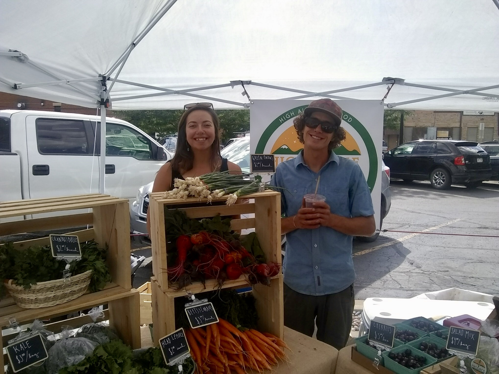 Find your tired farmers at the Durango Farmers Market every Saturday 8-noon!